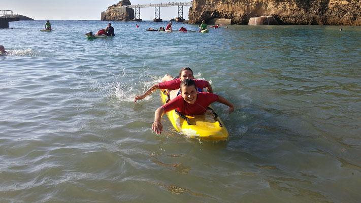 Sauvetage côtier Biarritz