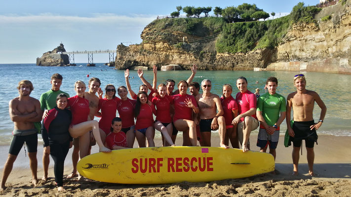 Team building Biarritz