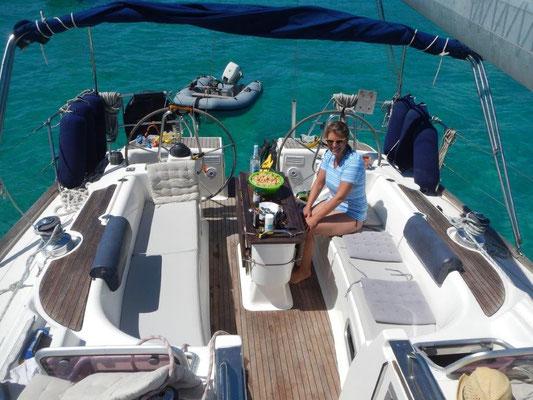 mitsegeln Sardinien auf komfortabler Segelyacht Aktivurlaub für Alleinreisende