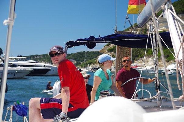 Bonifacio, das Piraten Nest im Süden von Korsika