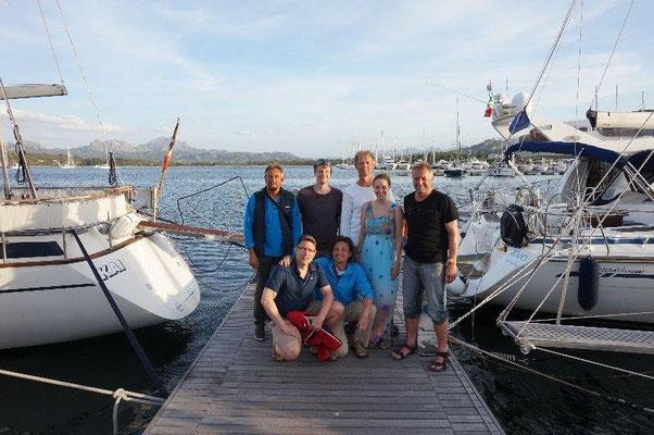 Sehr lustige Crew an Bord ! Berichte über Segeltörn im Mittelmeer Mallorca ist auch geplant