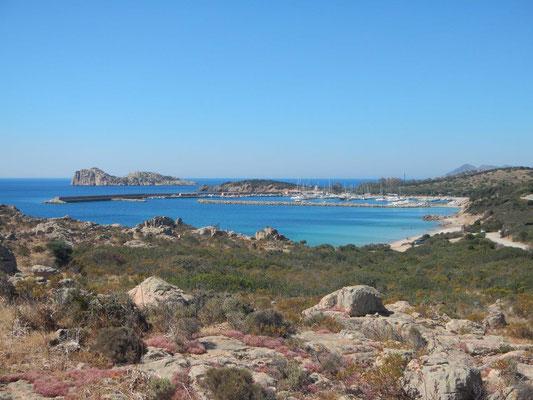 Die Marina Teulada in schöner Umgebung