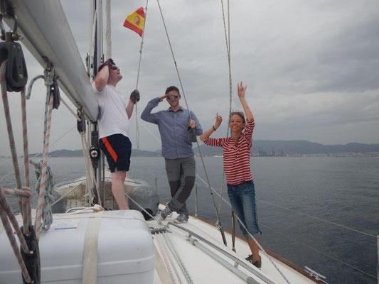 Segeln wieder in Spanien, Segeltörn als Urlaub