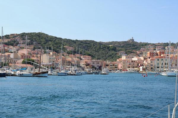 Auf der Insel Maddalen ist die Stadt La Maddalena. Das italienische Leben pur. Ich liebe diesen Ort.