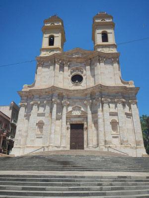 Mitten in der Innenstadt von Cagliari