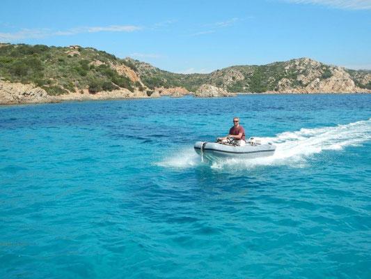 Segeltörn im Mittelmeer und Atlantik von Sardinien bis in die Algarve