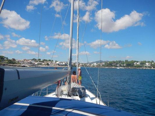 Segeltörn durch das Mittelmeer nach Mallorca ein Reisebericht
