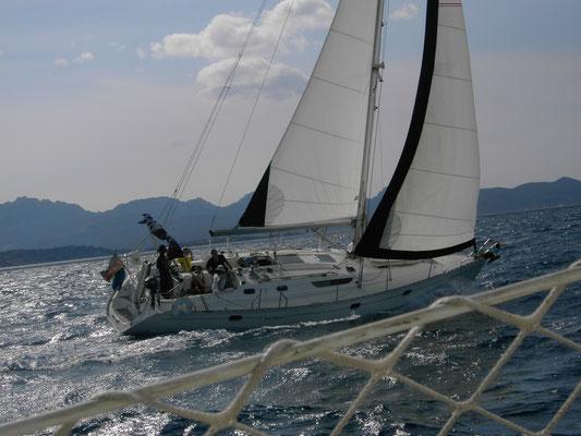 Segeln mit der Yanthana am Wind oft die schnellsten
