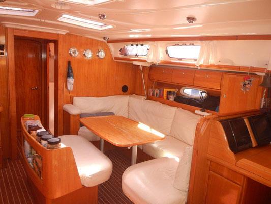 Bavaria 46 Cruiser ein komfortable Yacht mitsegeln auf der Jojo