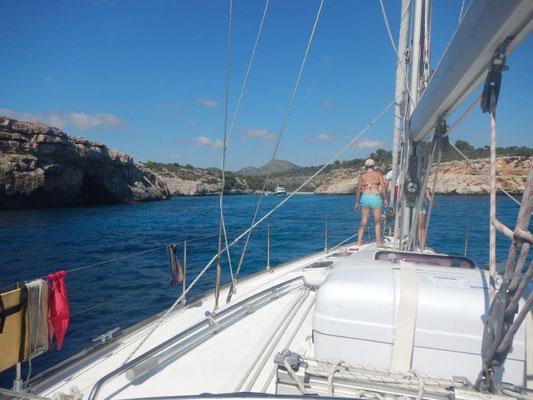 Urlaub auf einer Sgelyacht kann ein Abneteuer sein