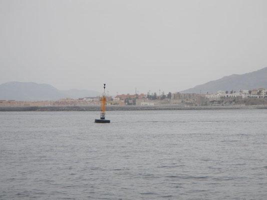 Das letzte Seezeichen im Mittelmeer