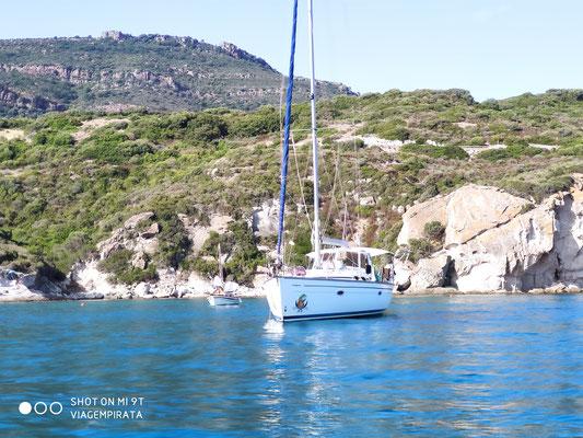 Die Jojo zum aktivem Mitsegeln auch im Revier von Korsika