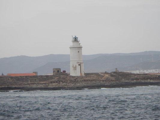 Der Leuchtturm von Tarifa. Segeln zwischen Atlantik und Mittelmeer.