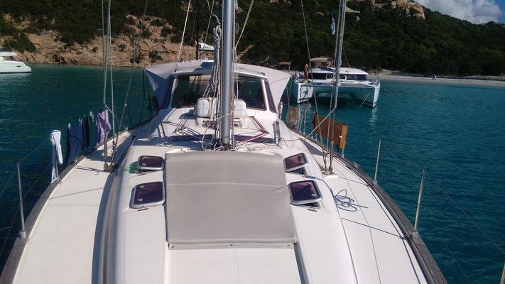 Mitsegeln Sardinien mit Skipper auf gepflegter Eigneryacht privat