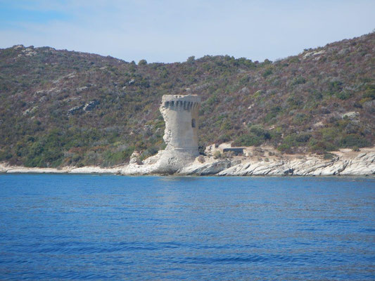 einer von 167 Wachtürmen auf Korsika