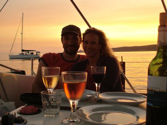 Romantik pur, Urlaub auf einer Segelyacht