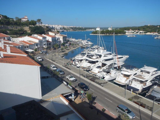 Mahon auf Menorca ist sehr schön