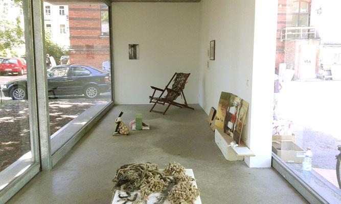 Bricolage - Ausstellung Pavillon am Milchhof Berlin, Raumansicht