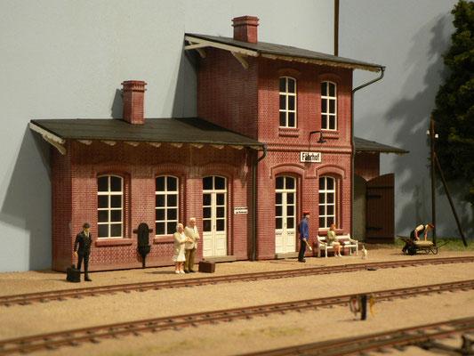 Fährhof bekam ein neues Empfangsgebäude.