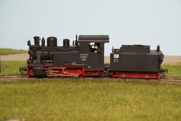 Br 994651 Hf 110c  Henschel ( Henke Bausatz angepasst )