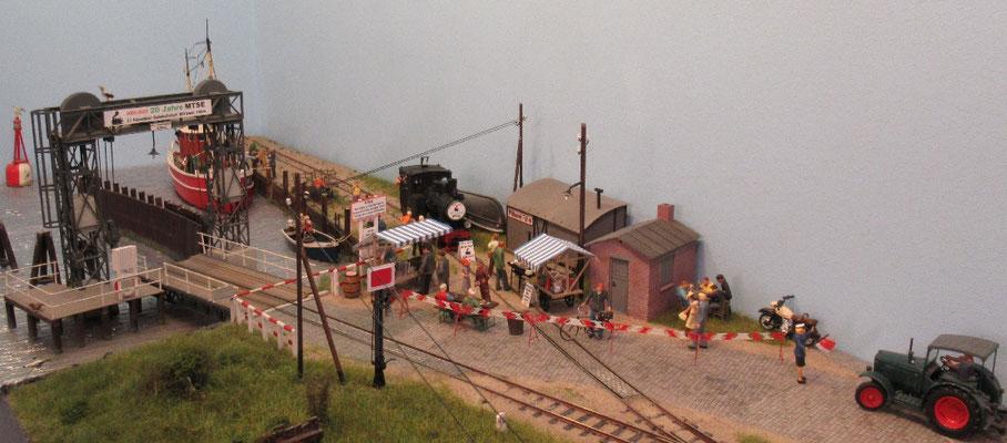 Ein letzter Blick auf das Bahnhofsfest