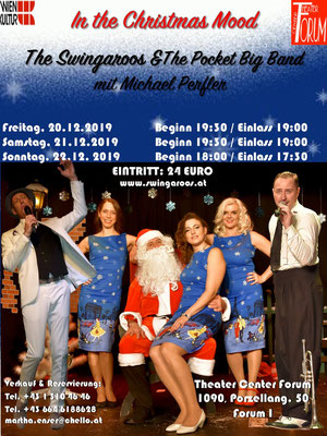 The Swingaroos & the Pocket Big Band - In the Christmas Mood 2019