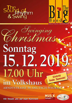 The Big Band Deutsch Wagram - Swinging Christmas 2019