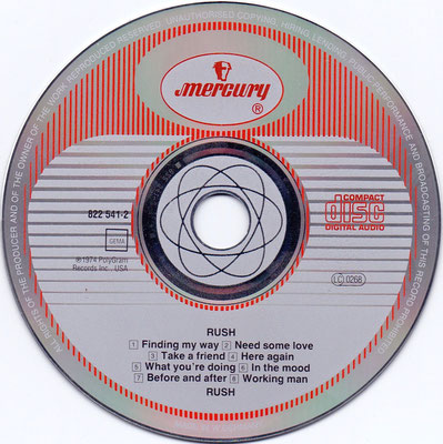CD: W.Germany / Mould: W.Germany by PDO