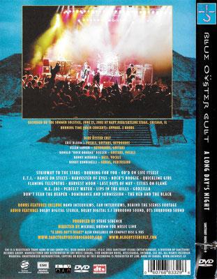 Canada DVD - back