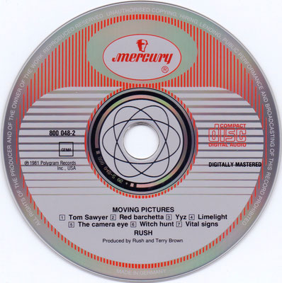 disc: Germany / hub: Germany by PMDC / Mould IFPI 0118