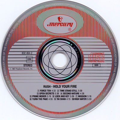 disc: Germany / hub: Made in Germany + Mould SID