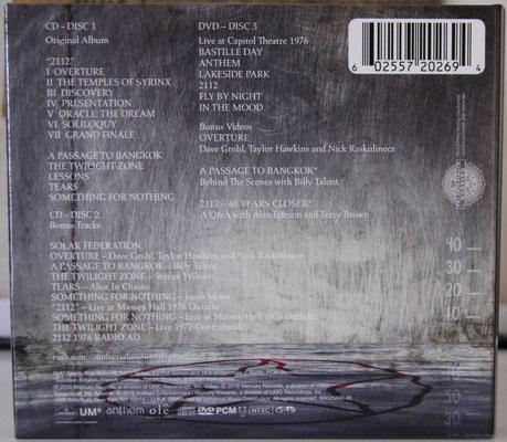 CD Digipak - US edition
