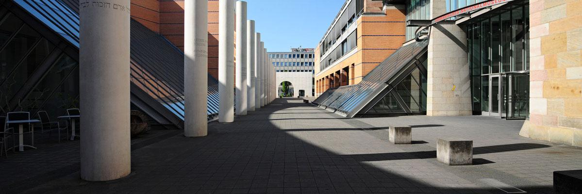 Straße der Menschenrechte / Germanisches Nationalmuseum