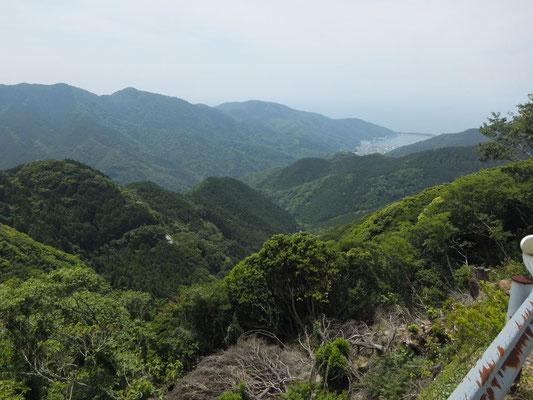戸田峠の眺望 戸田港方面
