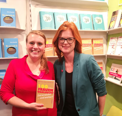 Rebecca Beerheide und Isabel Rohner