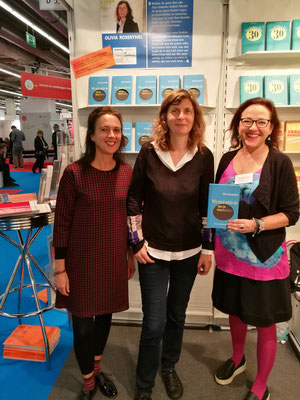 Birgit Leib, Olivia Rosenthal und Ulrike Helmer