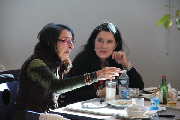 Danièle Jay et Lucia Bellizia