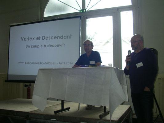 Pierre Cornuez et Fred Azzopard