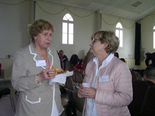 Christiane Nastri (CEBESIA) et Chantal Canu