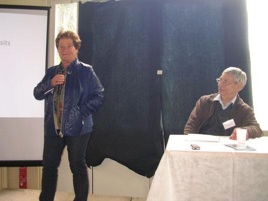 Martine Barbault et Yves Lenoble