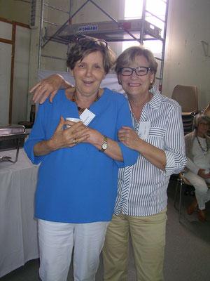 Josette Bétaillole et Chantal Canu