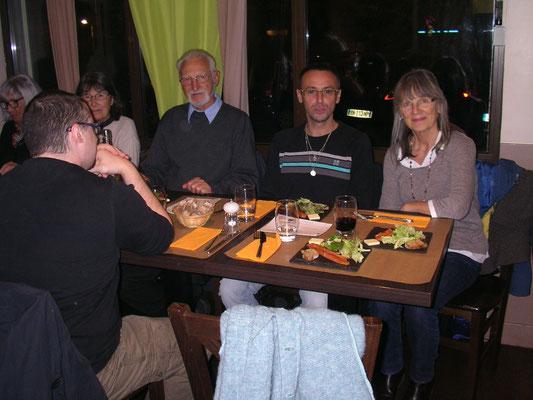 Suzanne Martel, Francis Bonvin et Michel Morel