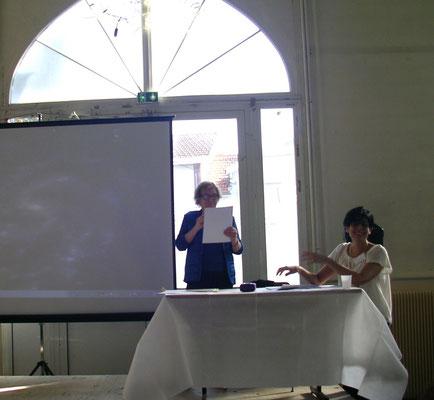Josette Bétaillole et Martine Belfort