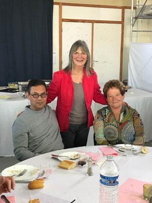 Franck Nguyen, Suzanne Martel, Martine Barbault