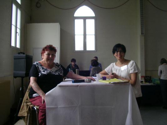 Anne-Marie Grandgeroge et Martine Belfort