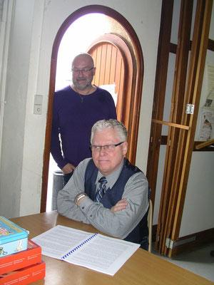 Richard Lachance et Fred Azzopard