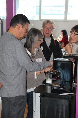 La machine à café !