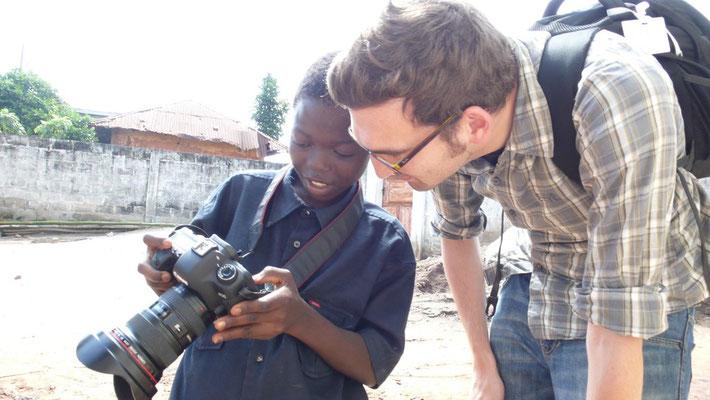 In Ouidah / Benin. Foto; Moritz Attenberger