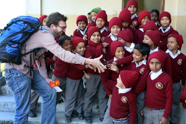 In Nepal 2014. Foto: Fritz Stark.