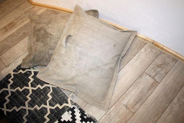 Sitzpolster beige